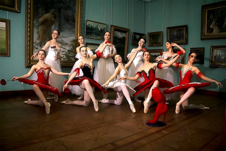 Балетный слоу-арт и праздник весны