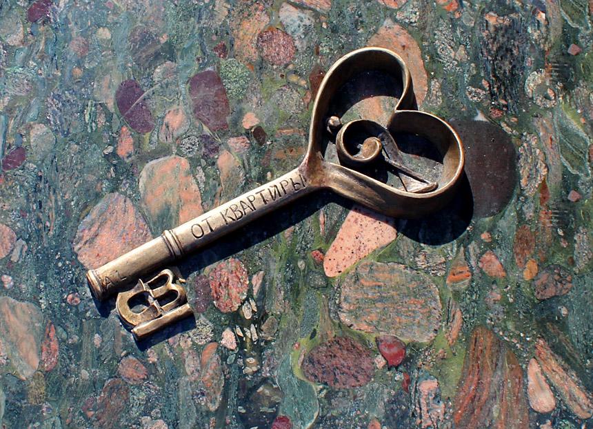 Скульптура «Ключ визнання»