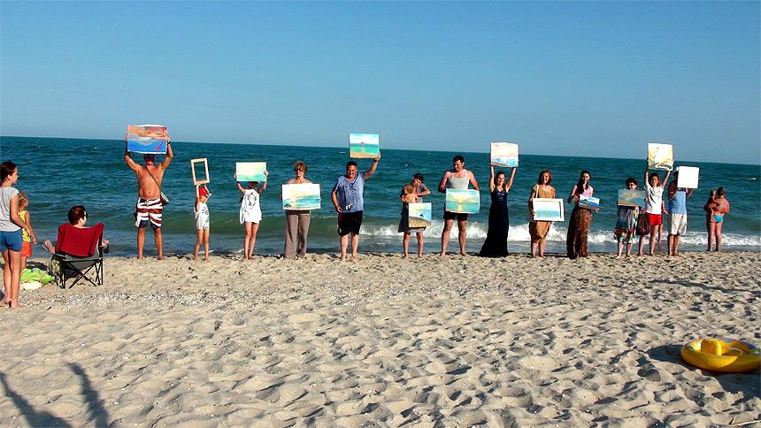 Performance «Beach peredvizh»